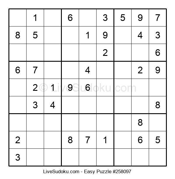 Beginners Puzzle #258097