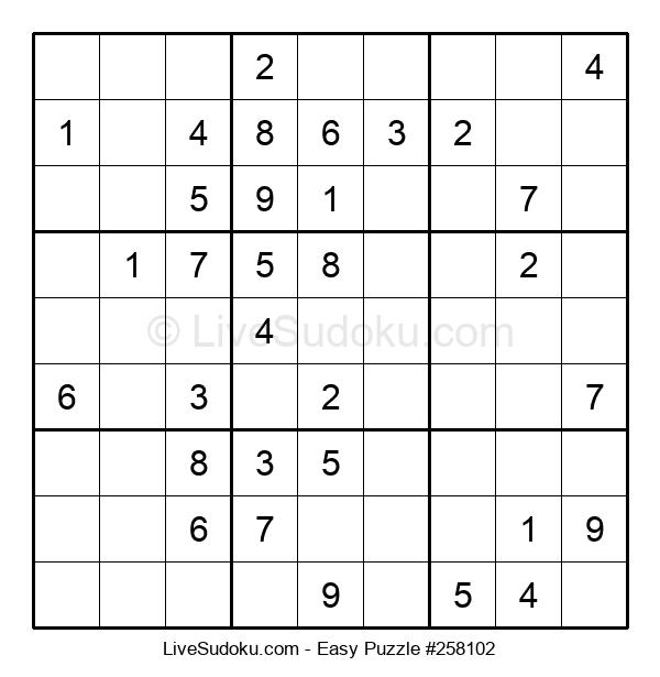 Beginners Puzzle #258102