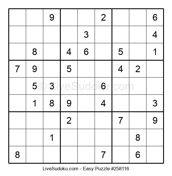 Beginners Puzzle #258116