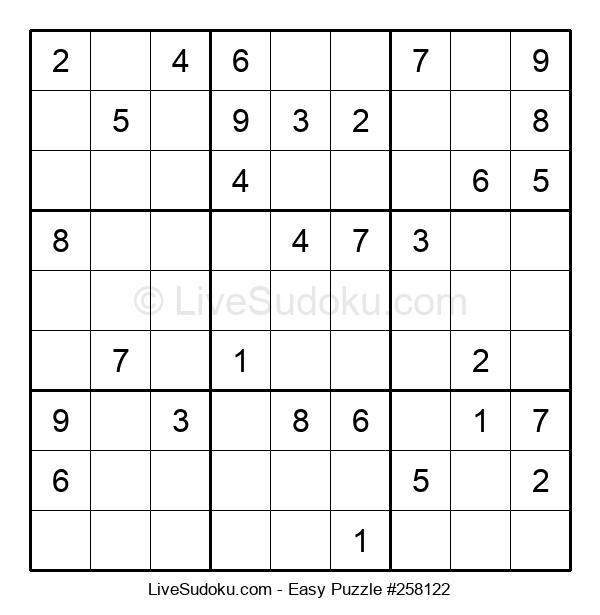 Beginners Puzzle #258122