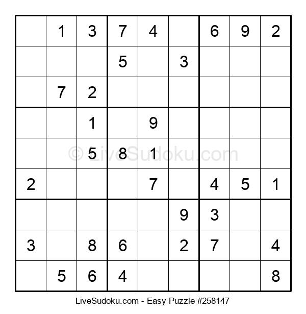 Beginners Puzzle #258147