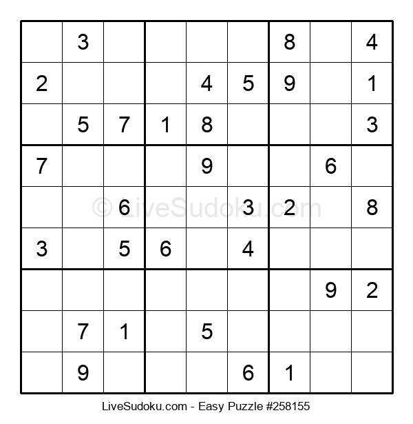 Beginners Puzzle #258155