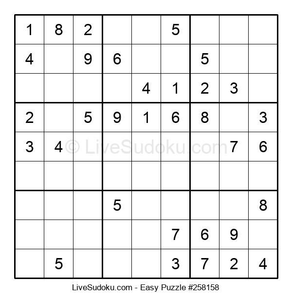 Beginners Puzzle #258158