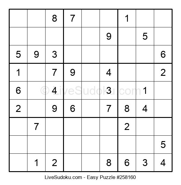 Beginners Puzzle #258160