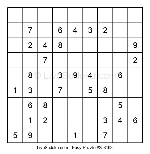 Beginners Puzzle #258163
