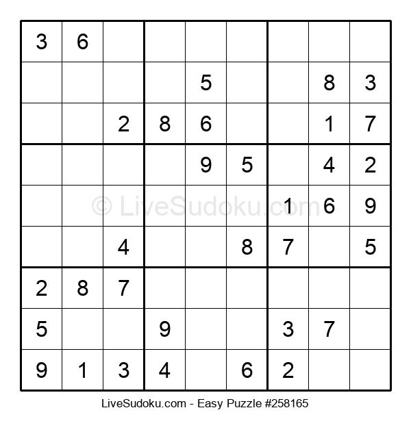 Beginners Puzzle #258165