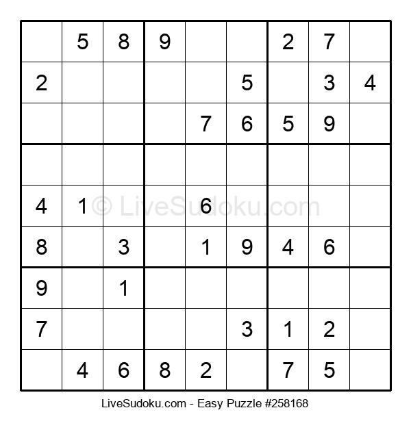 Beginners Puzzle #258168