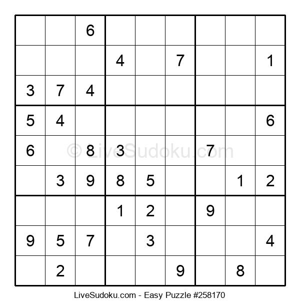 Beginners Puzzle #258170