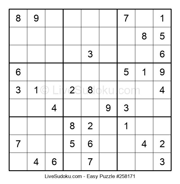 Beginners Puzzle #258171