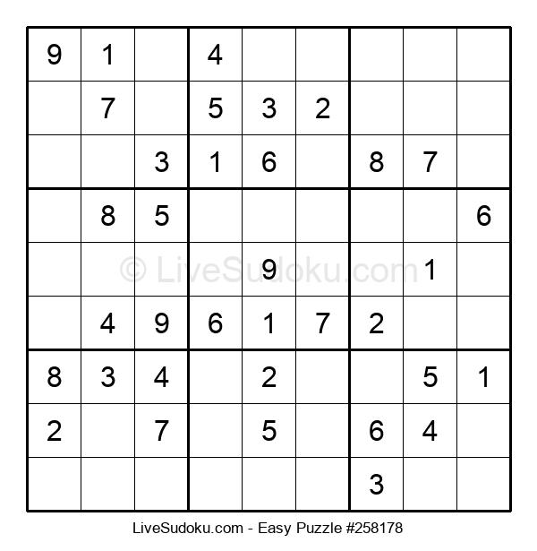 Beginners Puzzle #258178
