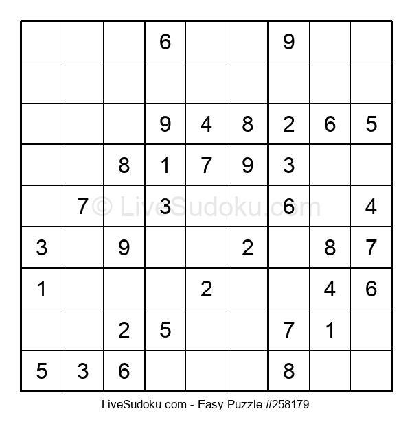 Beginners Puzzle #258179