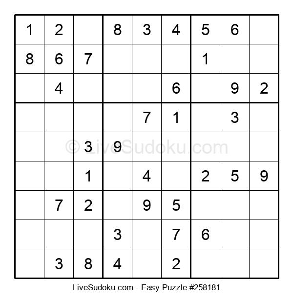 Beginners Puzzle #258181