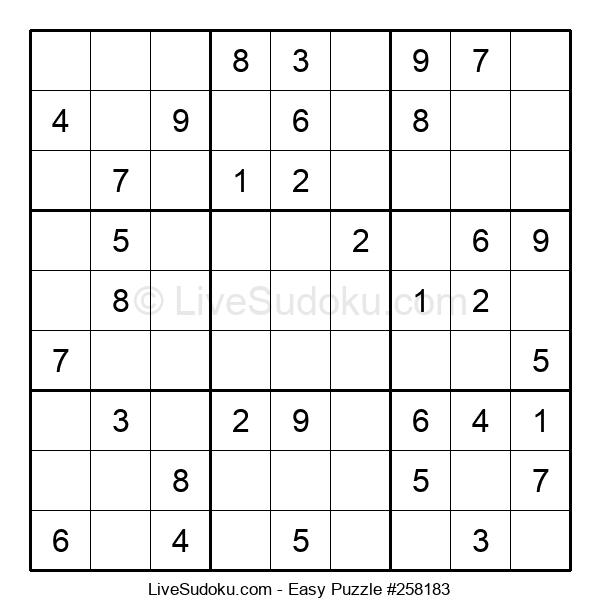 Beginners Puzzle #258183