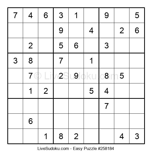 Beginners Puzzle #258184