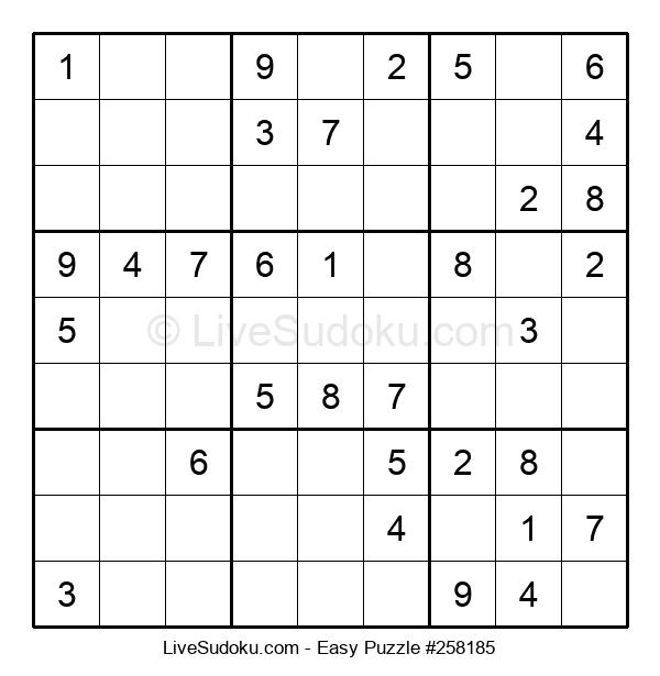 Beginners Puzzle #258185