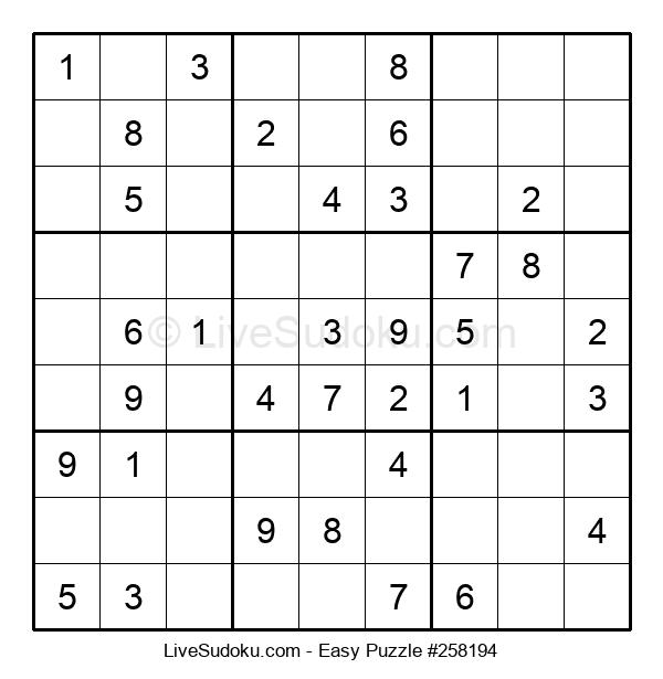 Beginners Puzzle #258194