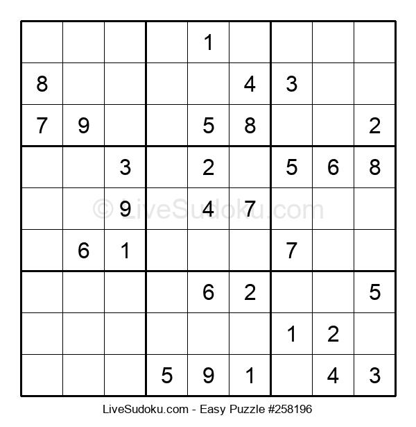 Beginners Puzzle #258196