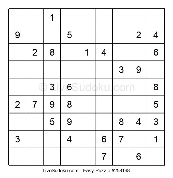 Beginners Puzzle #258198