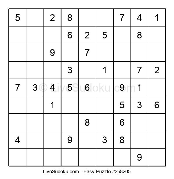 Beginners Puzzle #258205