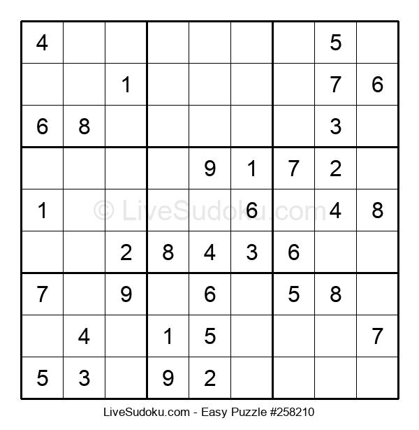 Beginners Puzzle #258210