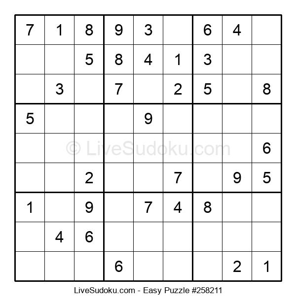 Beginners Puzzle #258211