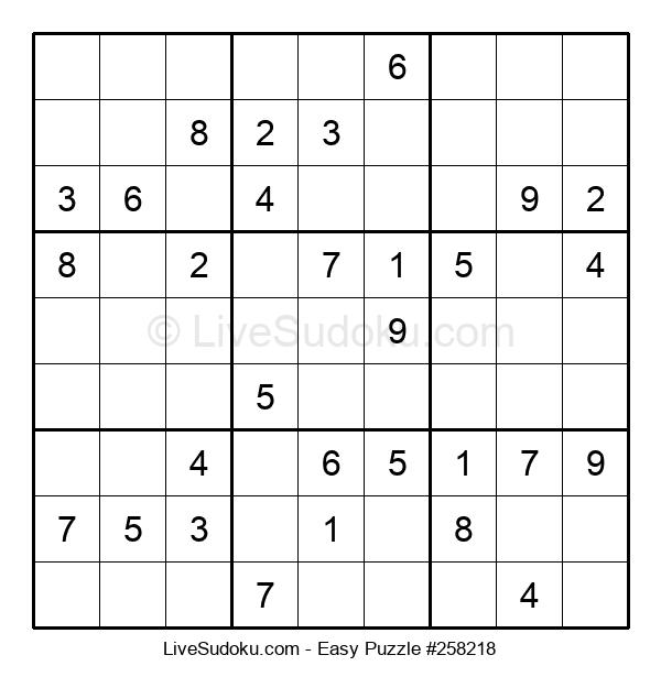 Beginners Puzzle #258218