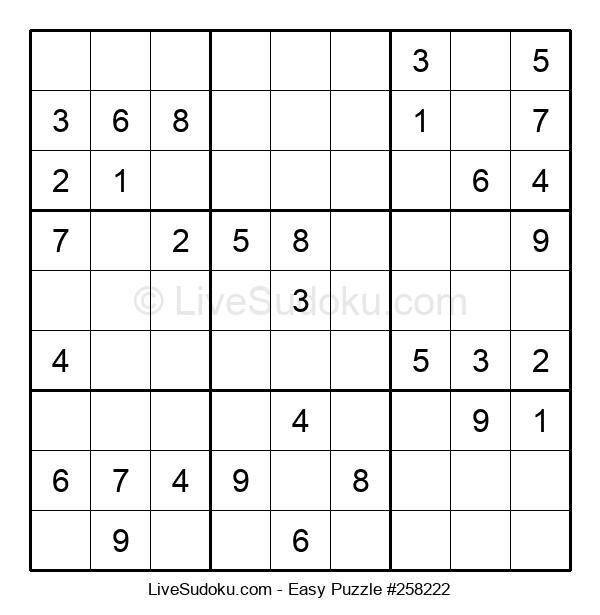 Beginners Puzzle #258222