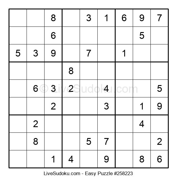 Beginners Puzzle #258223
