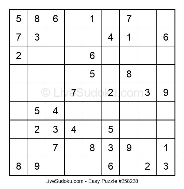 Beginners Puzzle #258228
