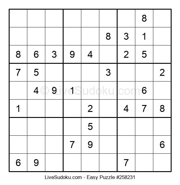 Beginners Puzzle #258231