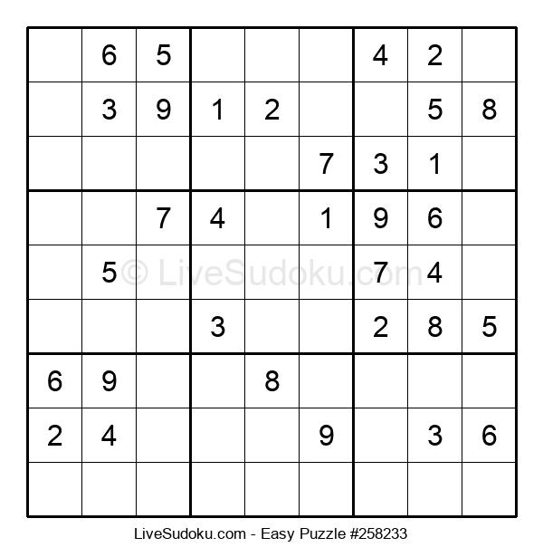 Beginners Puzzle #258233