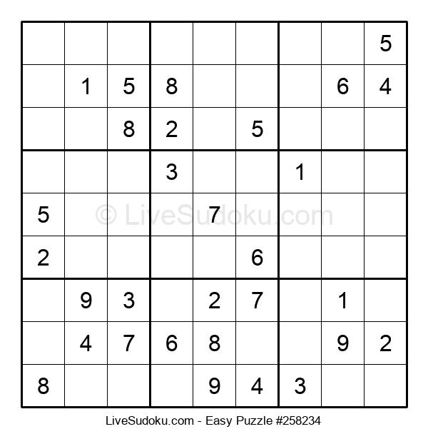 Beginners Puzzle #258234