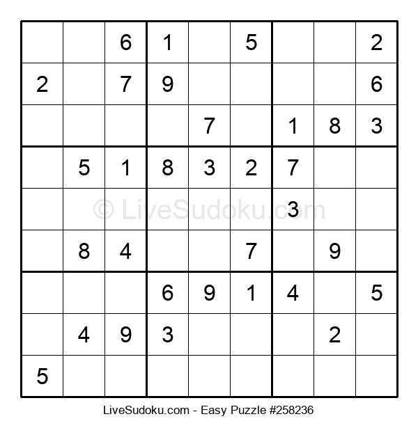 Beginners Puzzle #258236