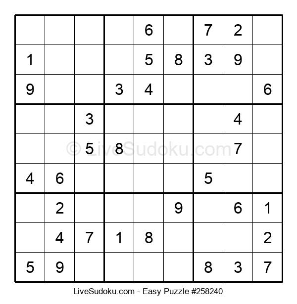 Beginners Puzzle #258240