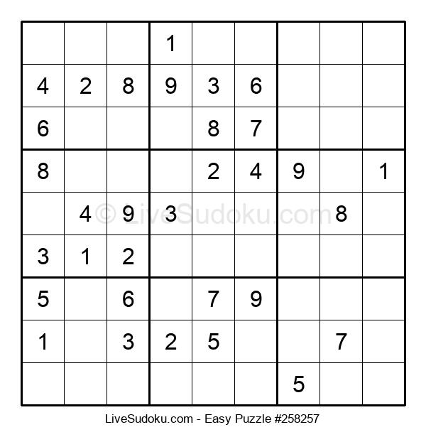 Beginners Puzzle #258257