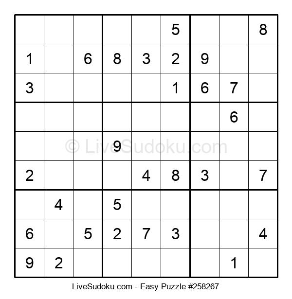 Beginners Puzzle #258267