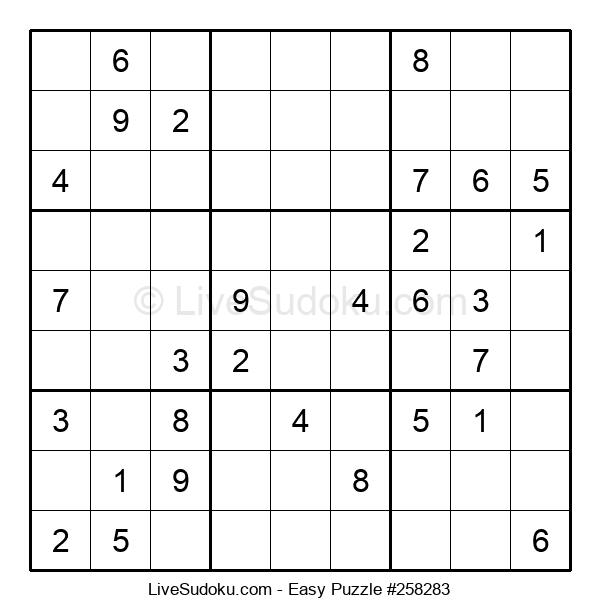 Beginners Puzzle #258283