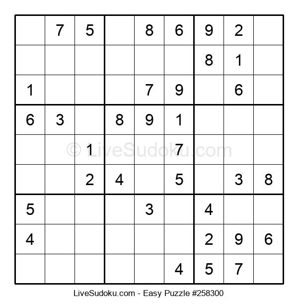 Beginners Puzzle #258300