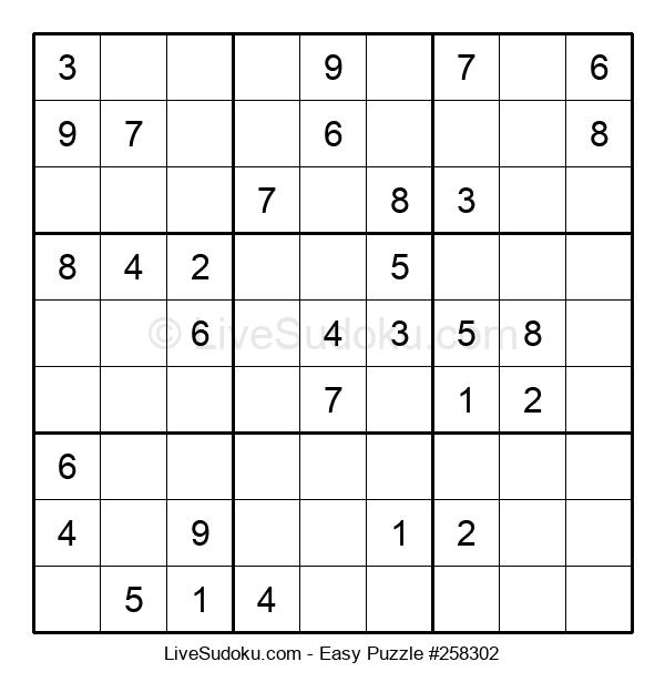 Beginners Puzzle #258302