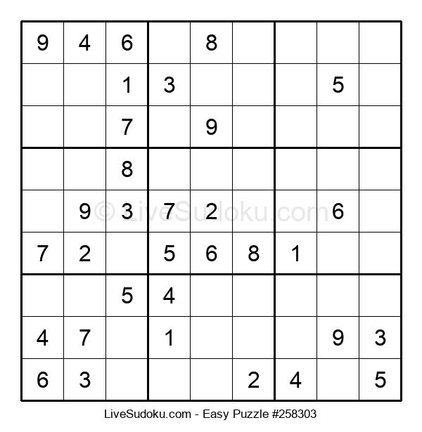 Beginners Puzzle #258303