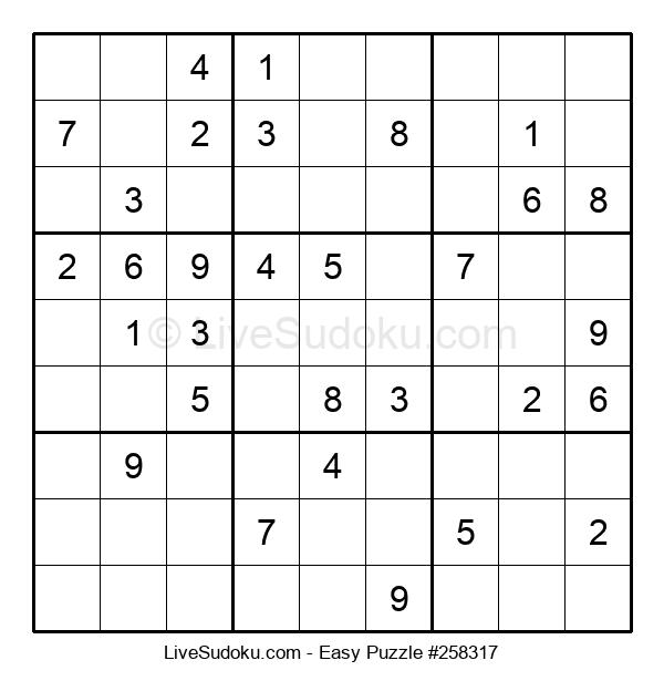 Beginners Puzzle #258317