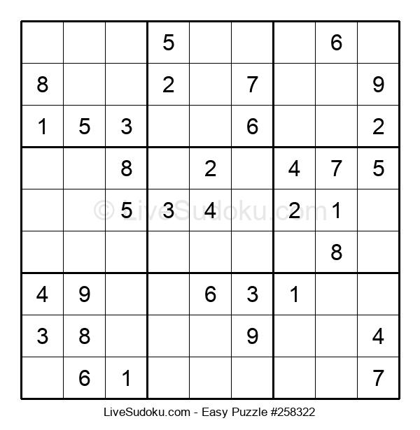Beginners Puzzle #258322