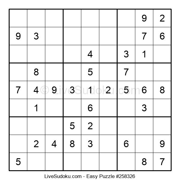 Beginners Puzzle #258326