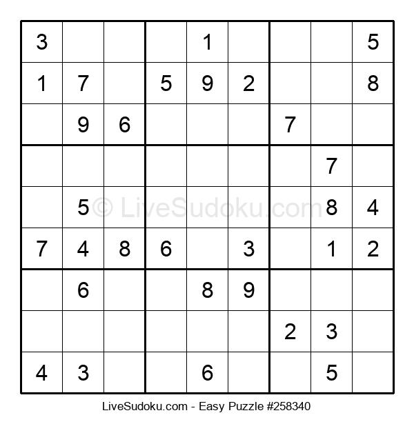 Beginners Puzzle #258340