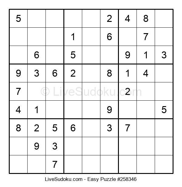 Beginners Puzzle #258346