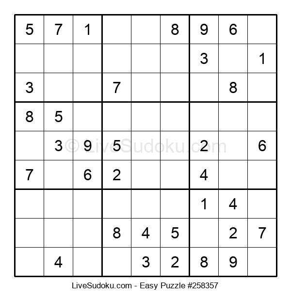 Beginners Puzzle #258357