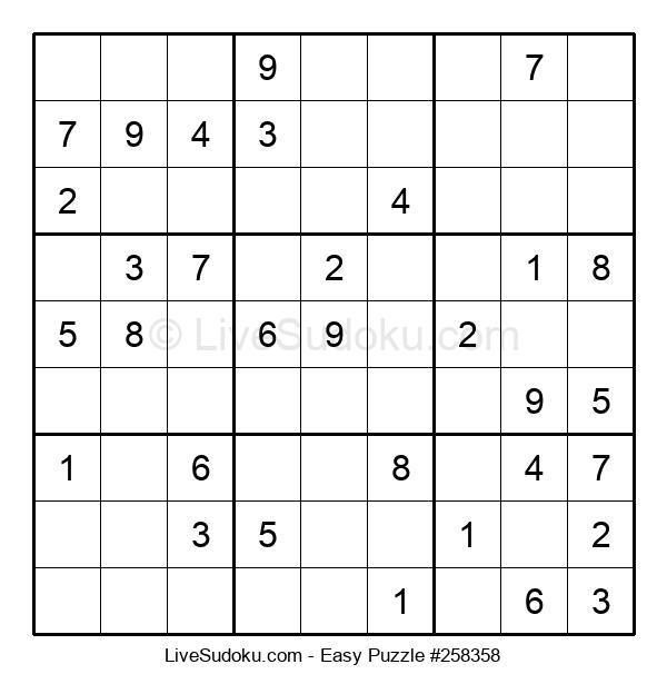 Beginners Puzzle #258358