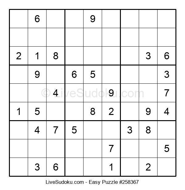 Beginners Puzzle #258367
