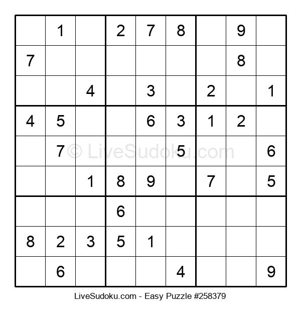 Beginners Puzzle #258379