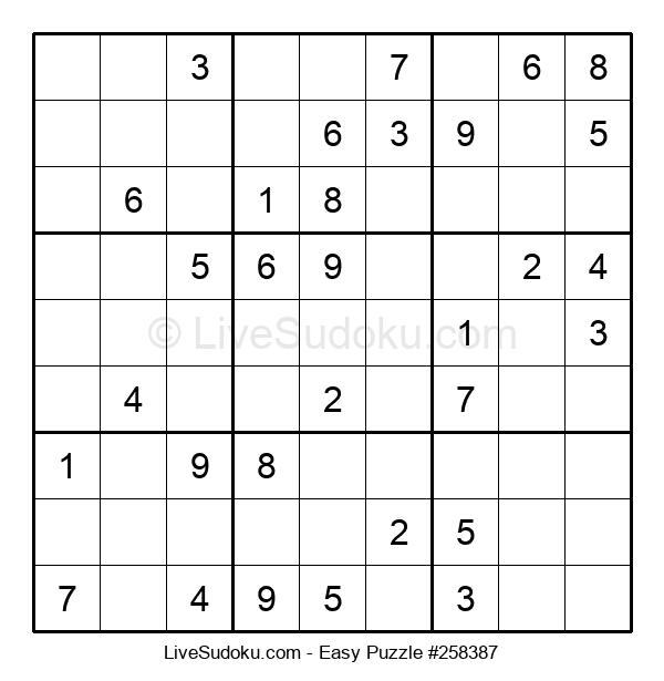 Beginners Puzzle #258387